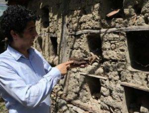 Bursa'da bazı evlerin duvarında Roma kalıntıları bulundu